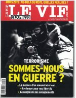 couverture Vif l'Express